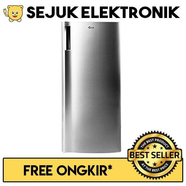 LG GN-INV304SL Lemari Es / Kulkas 1 Pintu Freezer - 165 Liter (JADETABEK ONLY)