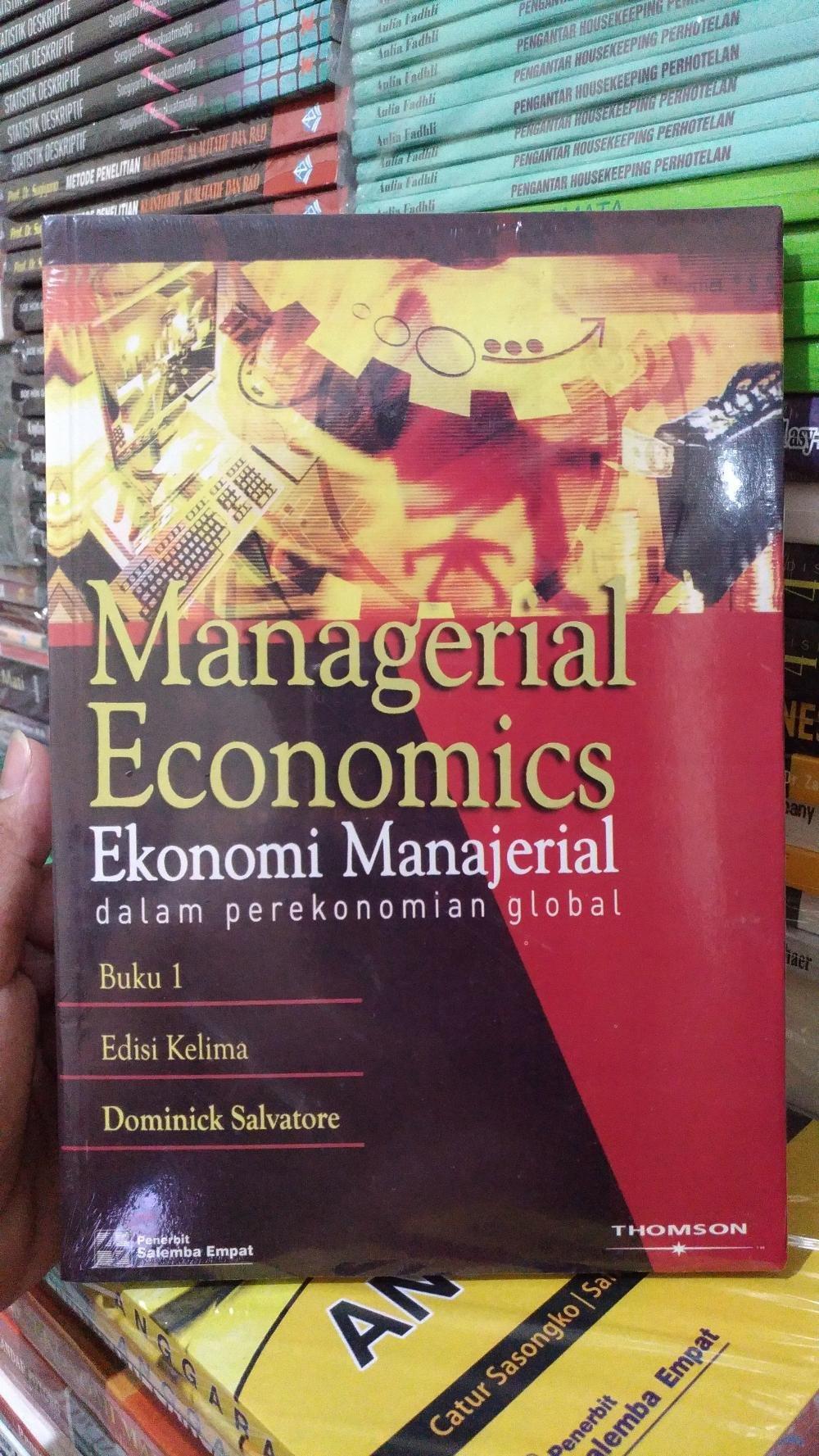 Buy Sell Cheapest Ilmu Mikro Ekonomi Best Quality Product Deals Teori Makro Pratama Buku Manajerial 1 E5 Dominick Salvatore