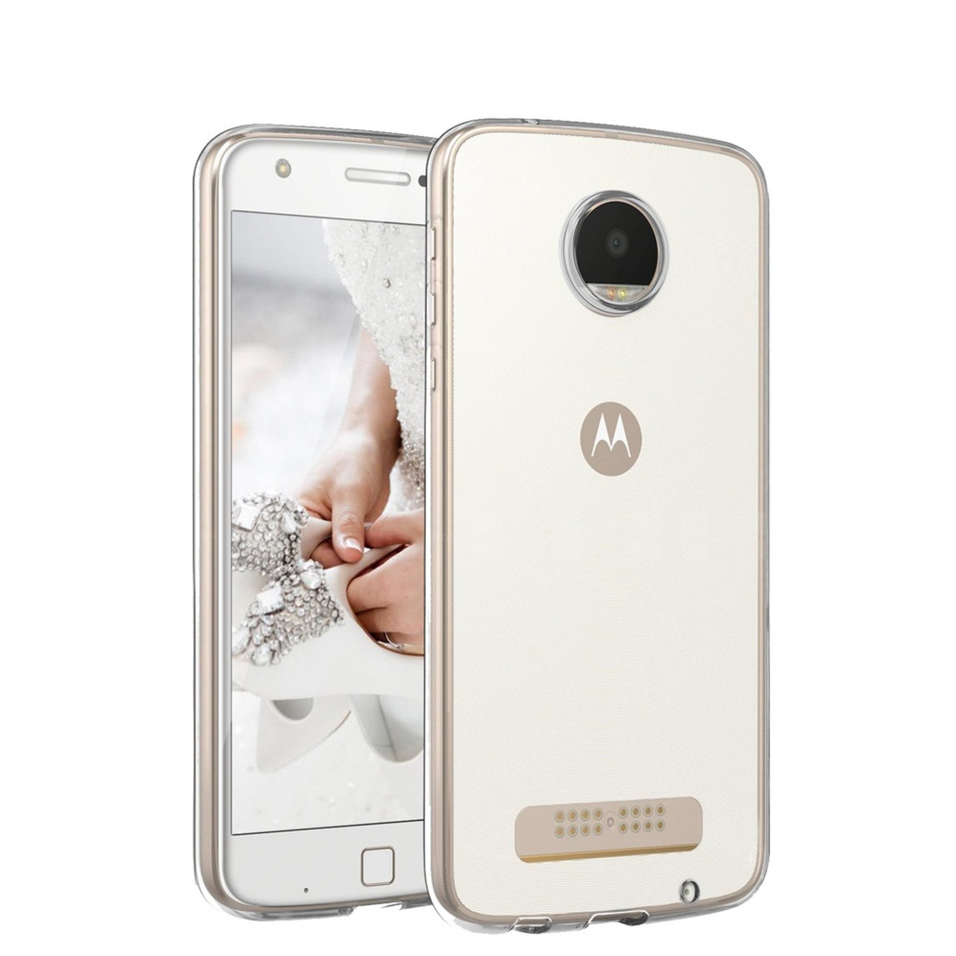 Motorola Moto Z PLAY SoftCase Jelly TPU Ultra Thin (Clear)