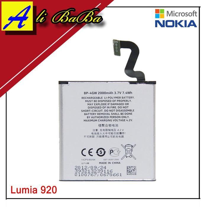 Baterai Hanphone Nokia Lumia 920 BP-4GW Batre HP Battery Nokia Lumia