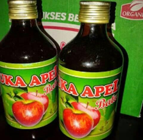 Cuka Apel Organik Batu  300 ml