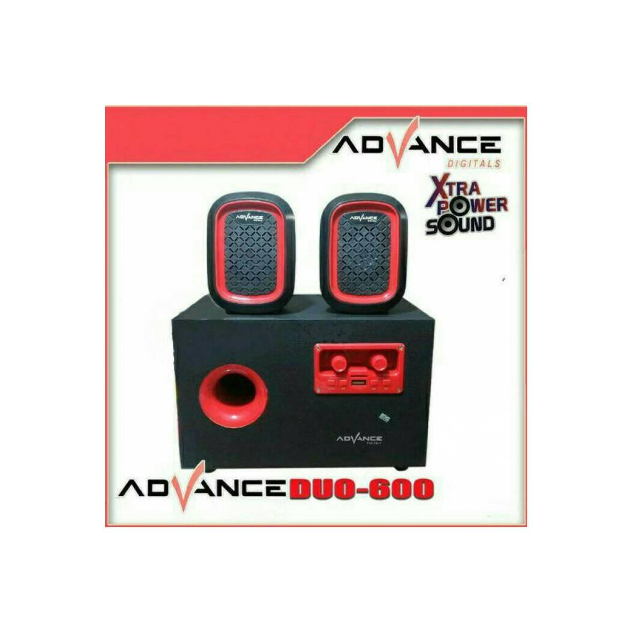 speaker ADVANCE Duo 600 xtra powet sounds termurah banget