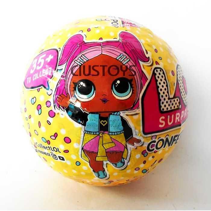 LOL KW SUPER SURPRISE CONFETTI POP SERIES 3 MAINAN LOL BEST SELLER | Toy