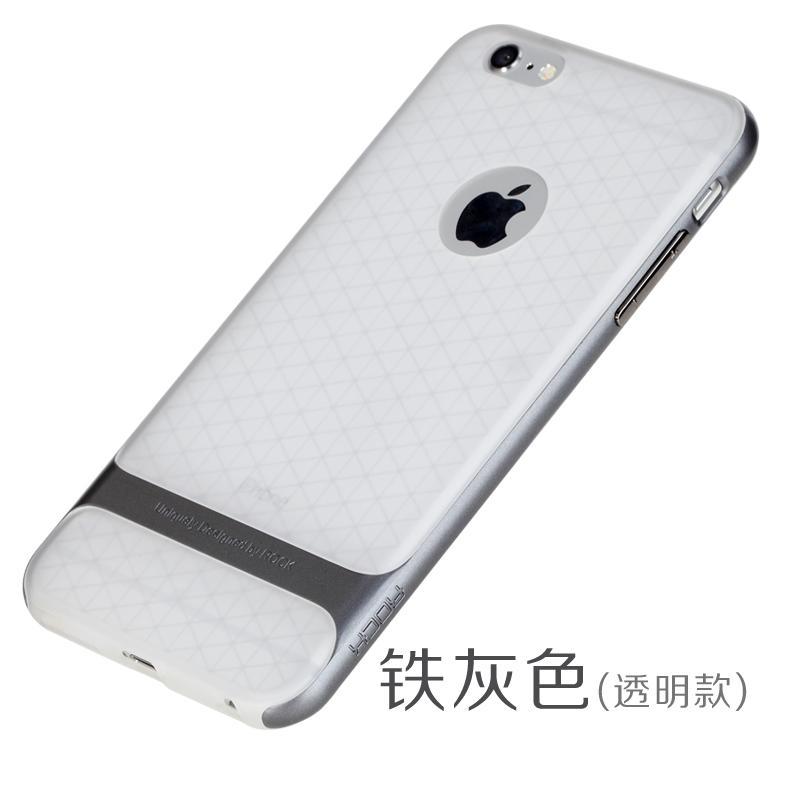 Rock IPhone6/6 Splus Transparan Apel Cangkang Telepon Lengan Pelindung