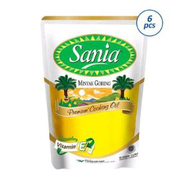 Sania Minyak Goreng 2L.x 6 pcs