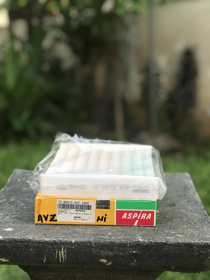 GSM FILTER / SARINGAN CABIN AC TOYOTA AVANZA / DAIHATSU XENIA MERK ASPIRA