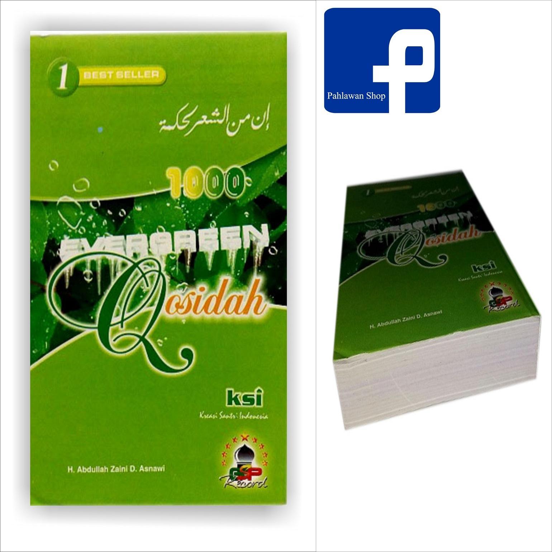 Qosidah Evergreen Hijau Original HVS / buku qosidah islamiyah atlas dunia sarung kaos distro habib syaikh kondom cat rambut tatto sweeter atlas wadimor bhs ...