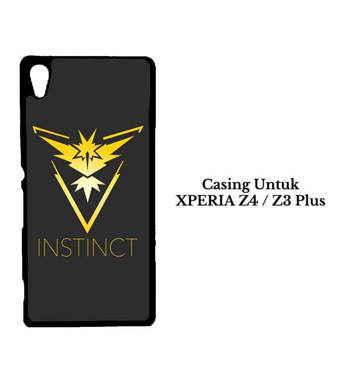 Casing XPERIA Z4 Team instinct wallpaper 3 Custom Hard Case Cover
