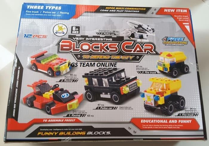 Hemat 10%!! Lego Blocks Cars Series With Packing Surprise EggU002Ftelor Lego Isi 6 Pc - ready stock