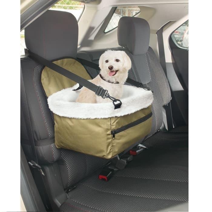 Pet Booster Seat - Keranjang Hewan Peliharaan Di Mobil