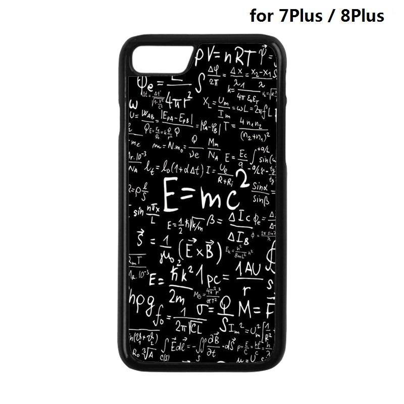 Math Mathematics Formula Protection Mobile Phone Back Cover Case for iPhone 4 4S 5 5S SE 5C 6 6S 7 8 Plus X 10 Phone Cases