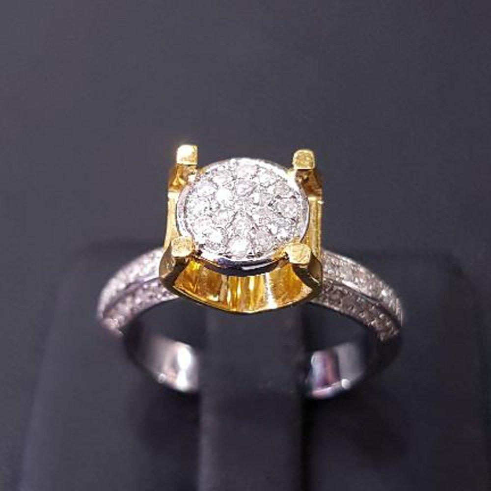 NEW PROMO cincin berlian emas putih cincin diamond emas berlian banjar cincin fashion berlian ada juga zamrud safir kecubung bacan cincin kawin cincin couple