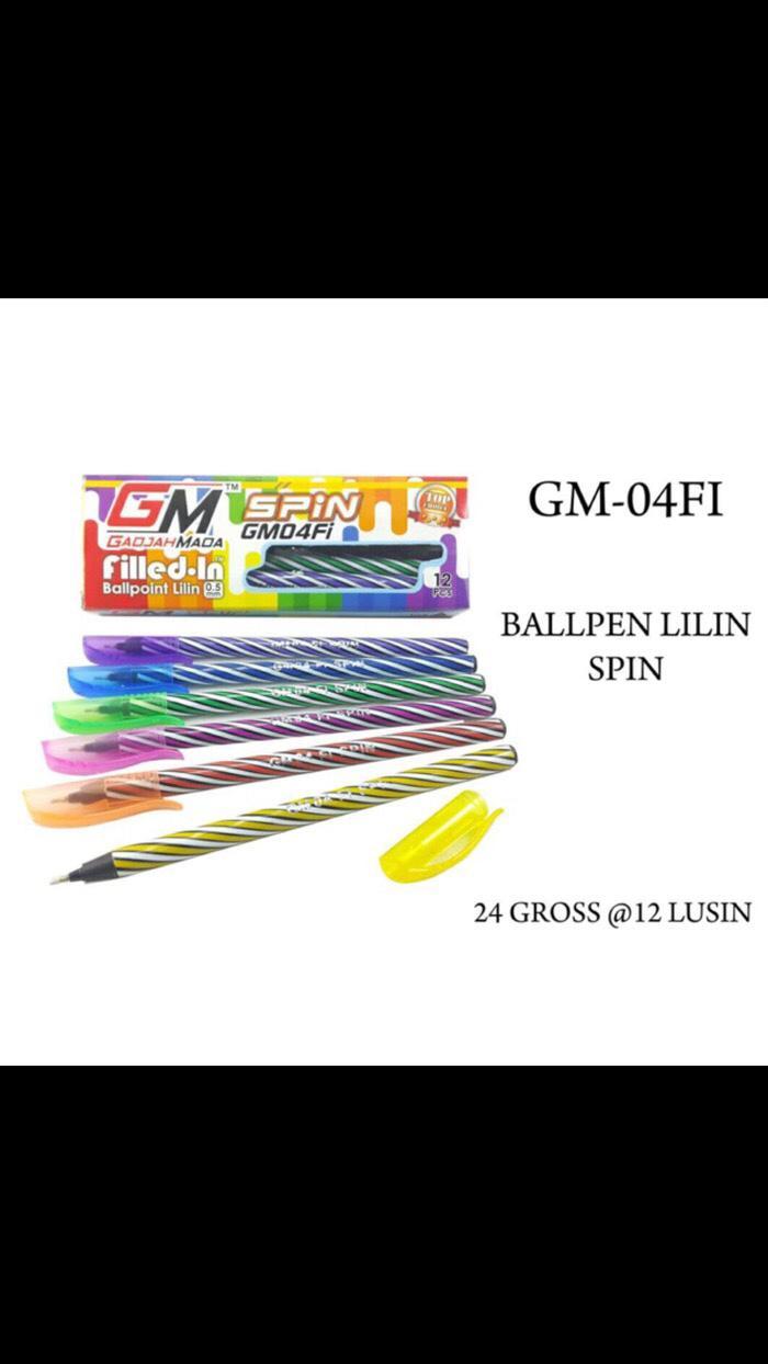 PROMO Pen/ Bolpen/ Pulpen/ ballpoint/ pena murah SPIN G