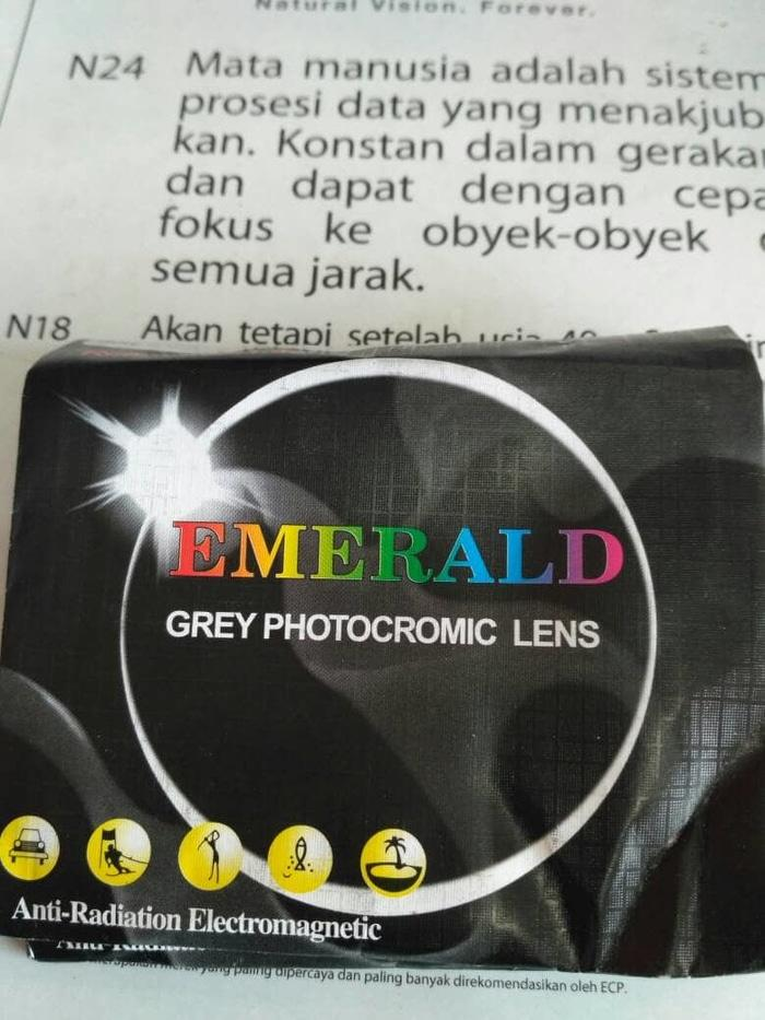 diskon 10%!! Lensa Photocromic Indeks 1.67. - ready stock
