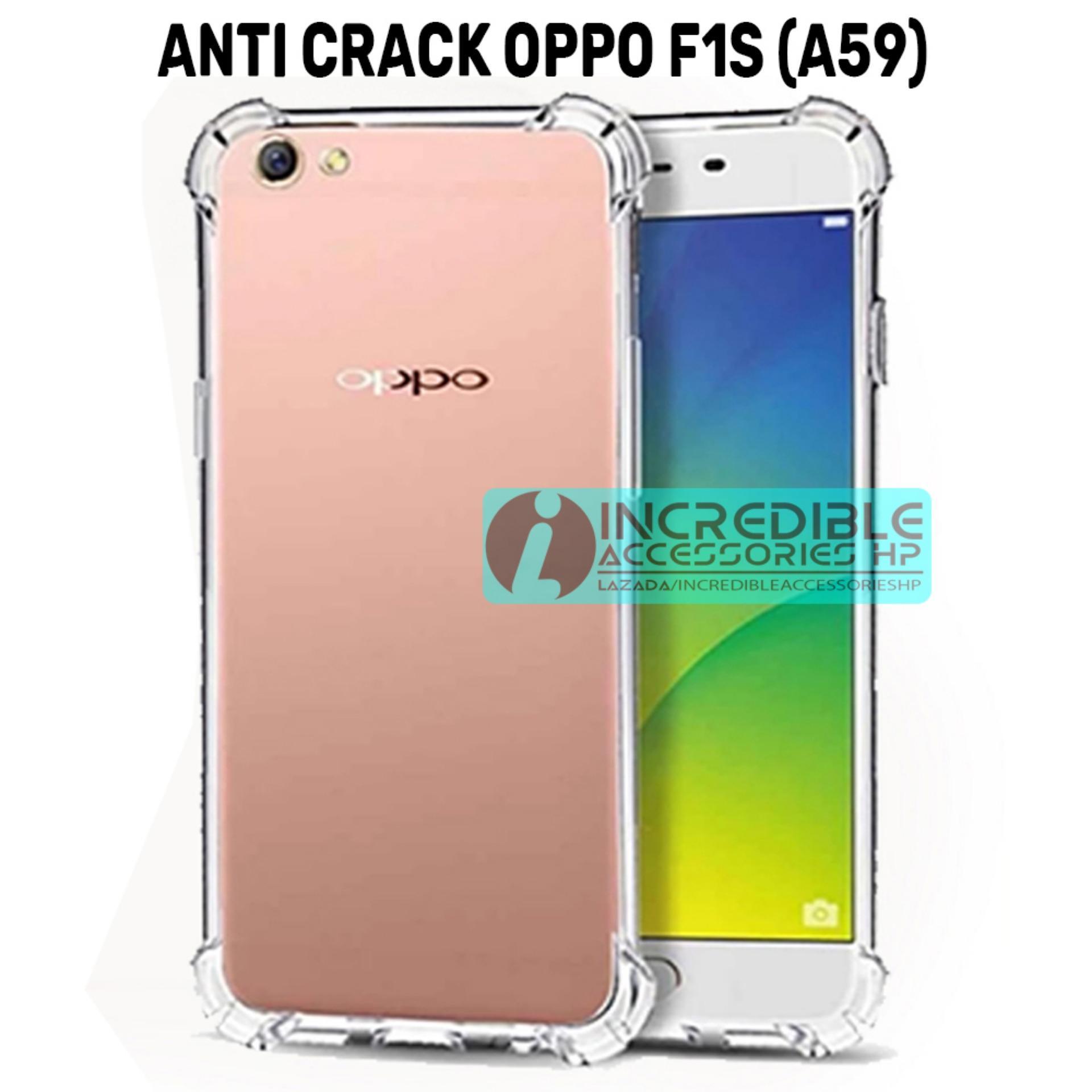 Case Anti Shock / Anti Crack Elegant Softcase for Oppo F1s (A59) - White