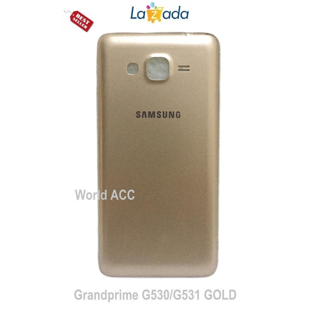 Backdoor/tutup baterai samsung Grand prime G530/G531 - Gold