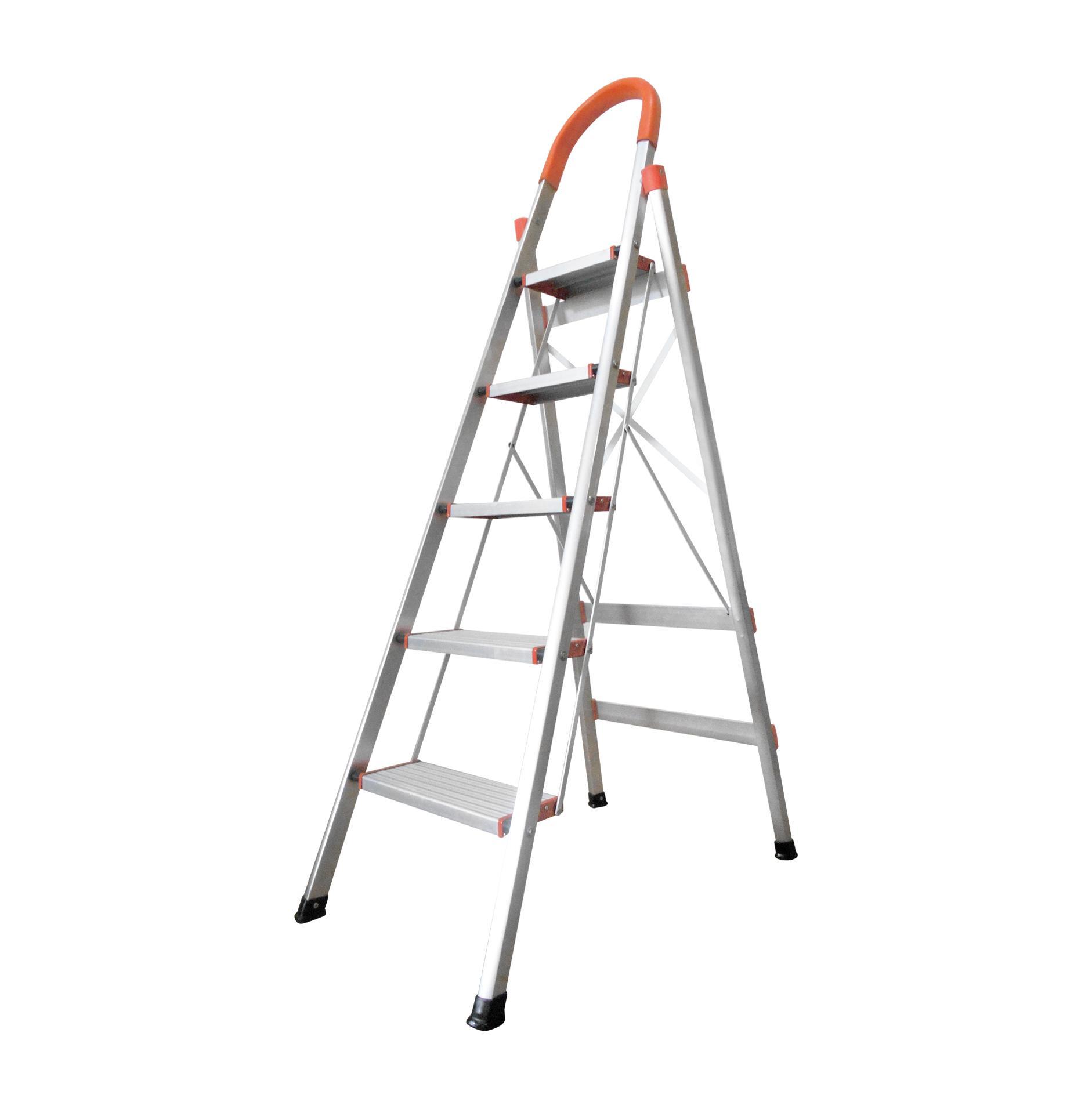 Tangga Alumunium Multi Purpose 478m Dalton Ml 104 Lipat Aluminium Step Ladder 406 Kmh0305 5 Silver 16 Meter Engsel Tahan Lama Kuat Awet
