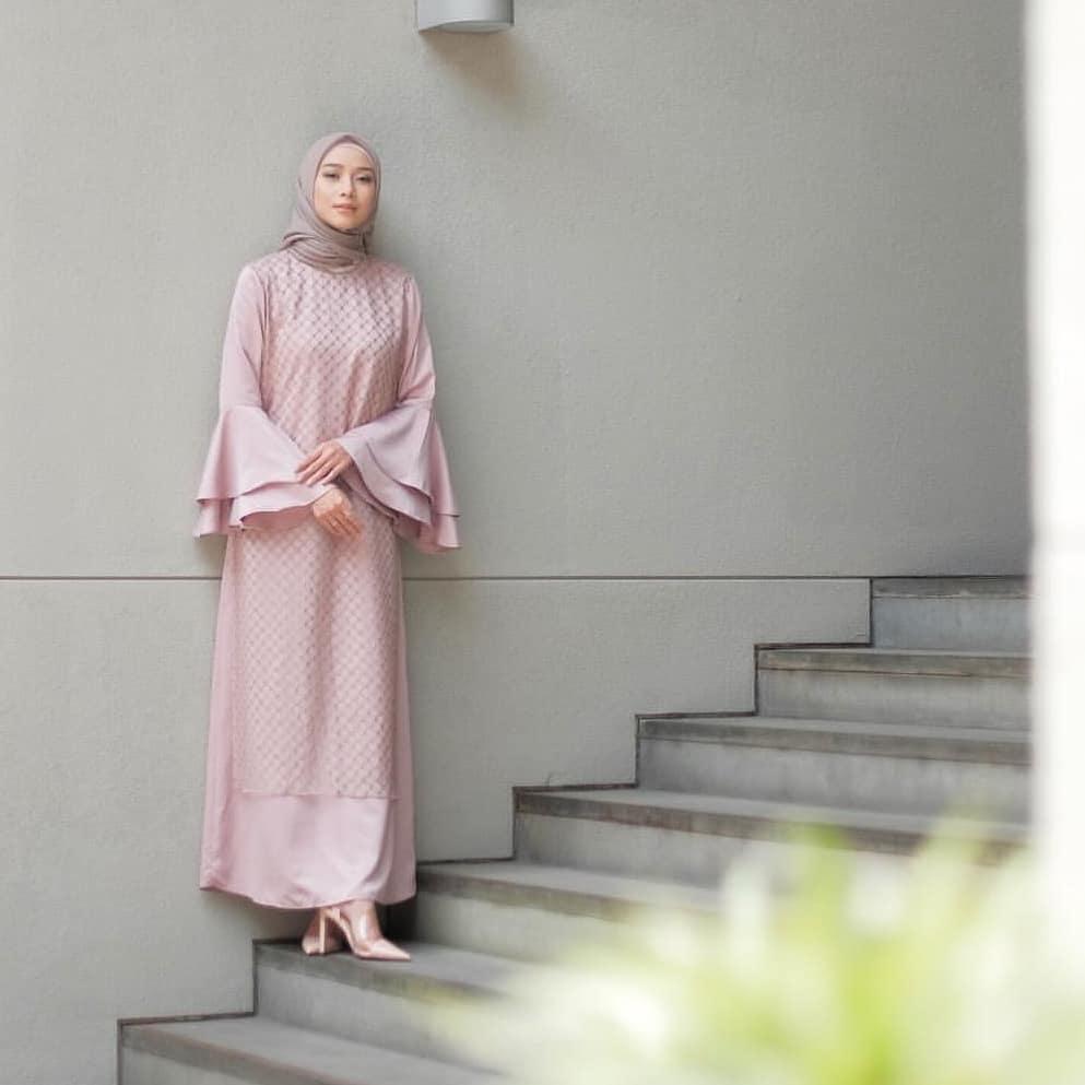 Baju Original Corn Dress Maxmara  Gamis Panjang Wanita Muslim Pakaian Cewek Gaun Hijab LongDress Fashion Terbaru 2018