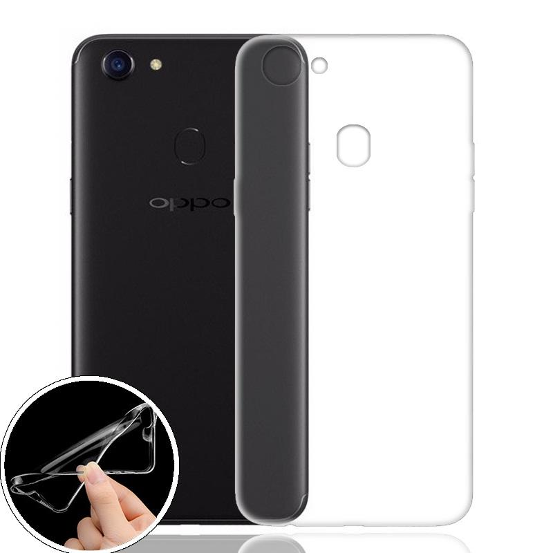 OPPO F5 SoftCase Jelly Transparan TPU Ultra Thin (Clear)
