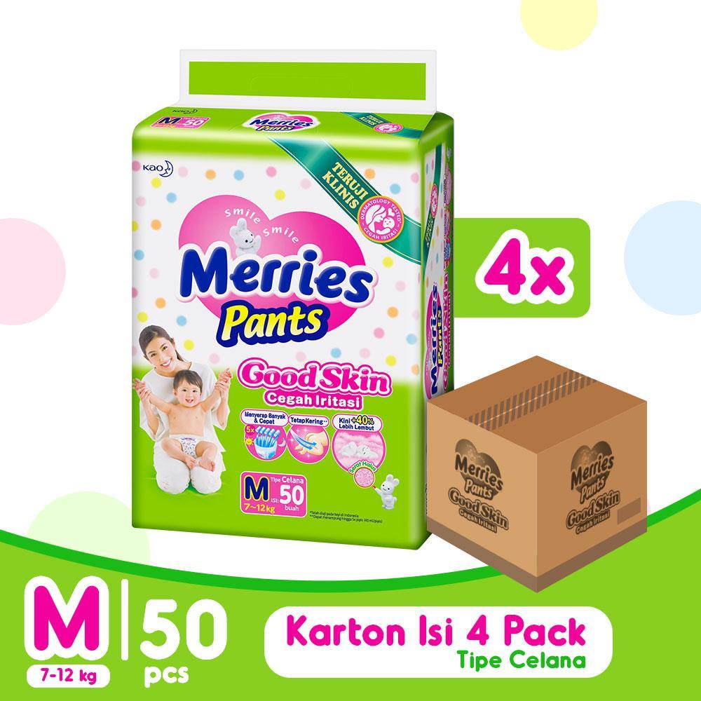 Jual Popok Pispot Bayi Terbaik Goon Excellent Dry Premium Tape Super Jumbo Xl Isi 50 Merries Pants Good Skin M X 4