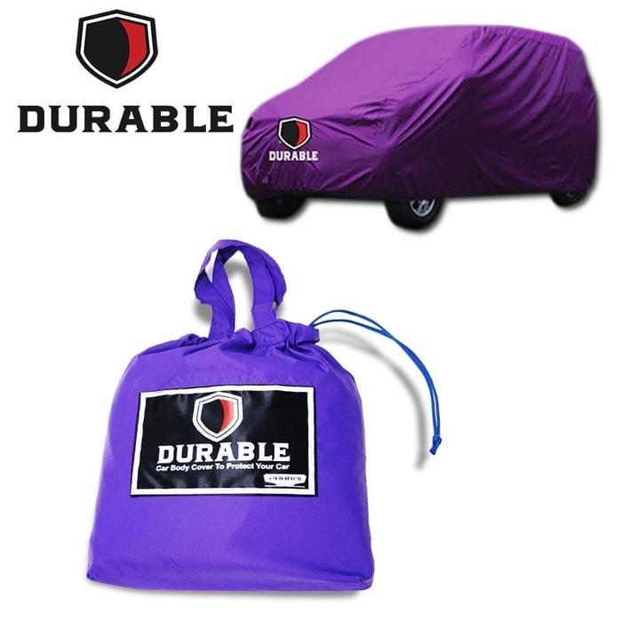 BEST SELLER!!! DAIHATSU AYLA DURABLE PREMIUM CAR COVER BODY TUTUP MOBIL PURPLE - Merah - IkxBDD