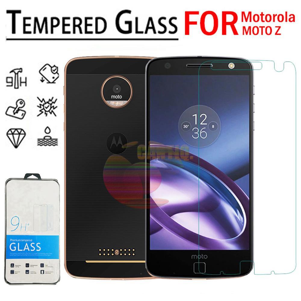 Icantiq Temper Glass Motorola Moto Z Ukuran 5.5 Inch Tempered Glass Motorola Z Anti Gores Kaca 9H / Pelindung Layar / Screen Guard Moto Z / Screen Protection /  Temper Kaca / Pelindung Layar Kaca - Transparant