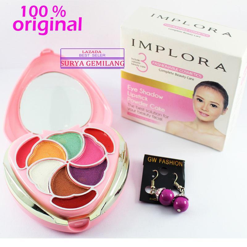 Implora 012 Bedak Wangi Complete Beauty Care Powder Cake