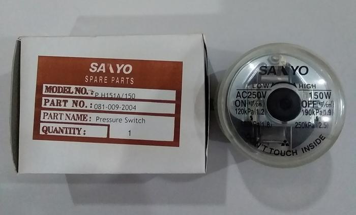 Pressure Switch Otomatis Sanyo