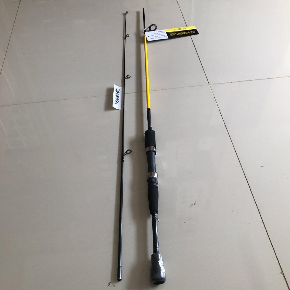 Joran Daiwa Crossfire 180 cm spinning TERBARU BOS PANCING zerya_fishing