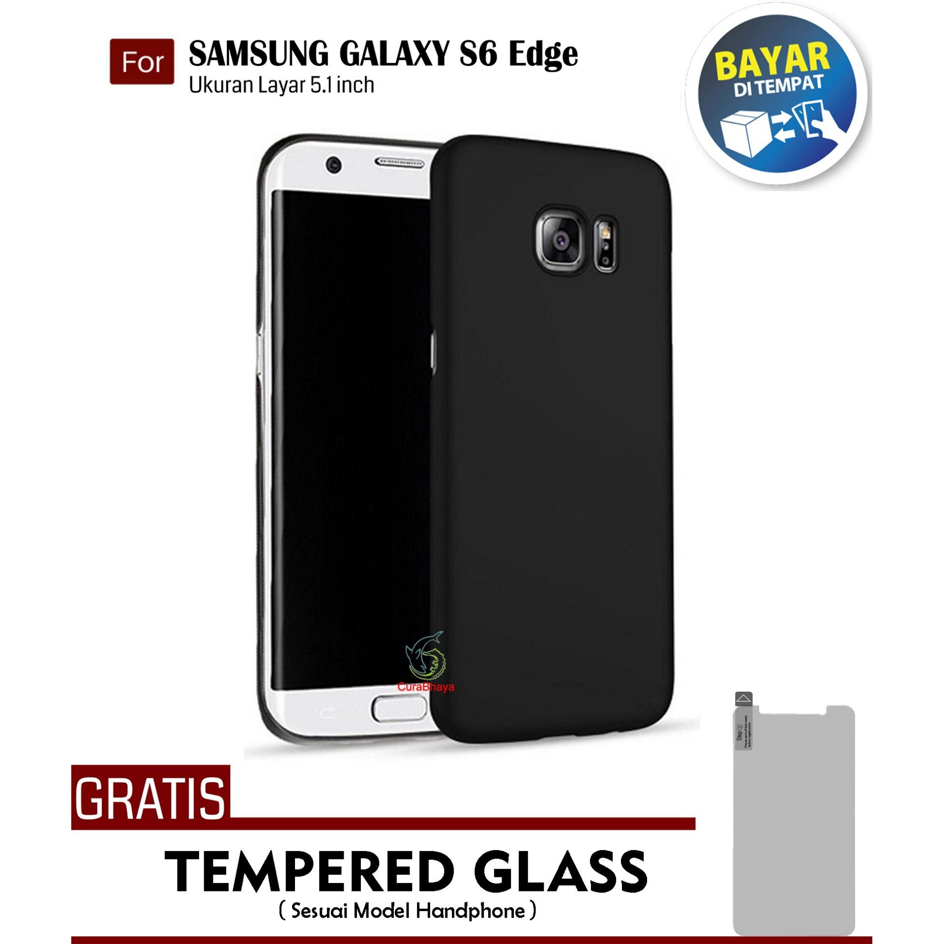 MidNight Samsung Galaxy S6 Edge (G925) / Duos | Slim Case Black Matte Softcase