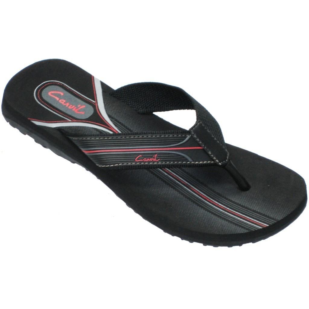 Jual Fashion Pria Carvil Terbaru Original Sandal Donggala Black Grey