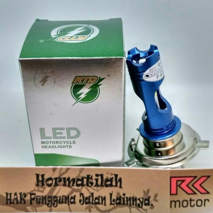 lampu motor vixion byson cb150R r15 led model h4