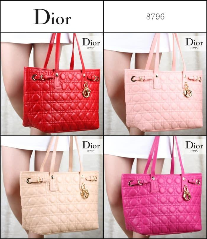 Hot Item!! Promo Tas Dior Panarea Shopping Lambskin Ssemi Ori 8796 - ready stock