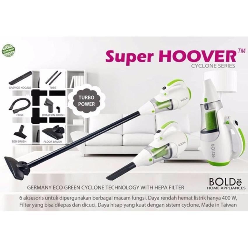 Dna Bolde Big Promo Super Hoover Vacuum Cleaner Germany - Alat Penyedot Vacum Vakum Debu Abu - Putih Hijau By Dna Collection.