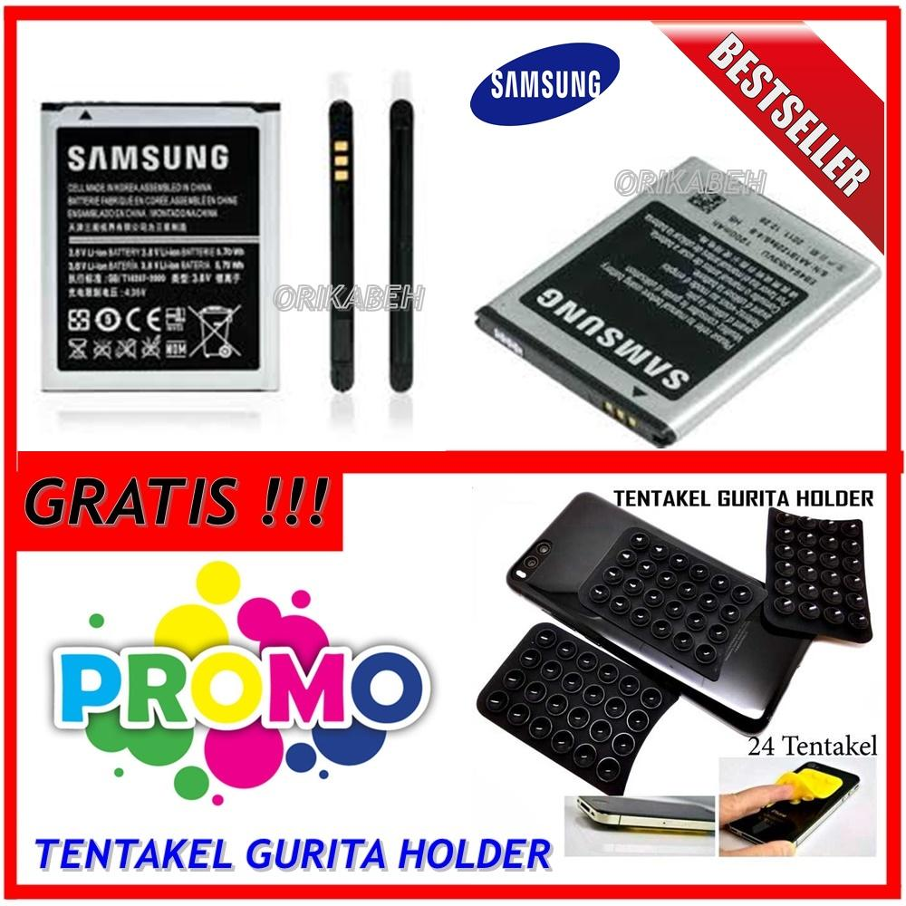 Samsung Battery for Galaxy Mini S5570/ Star S5280 / Young Neo / Chat + Gratis Holder Gurita ( ms_acc )