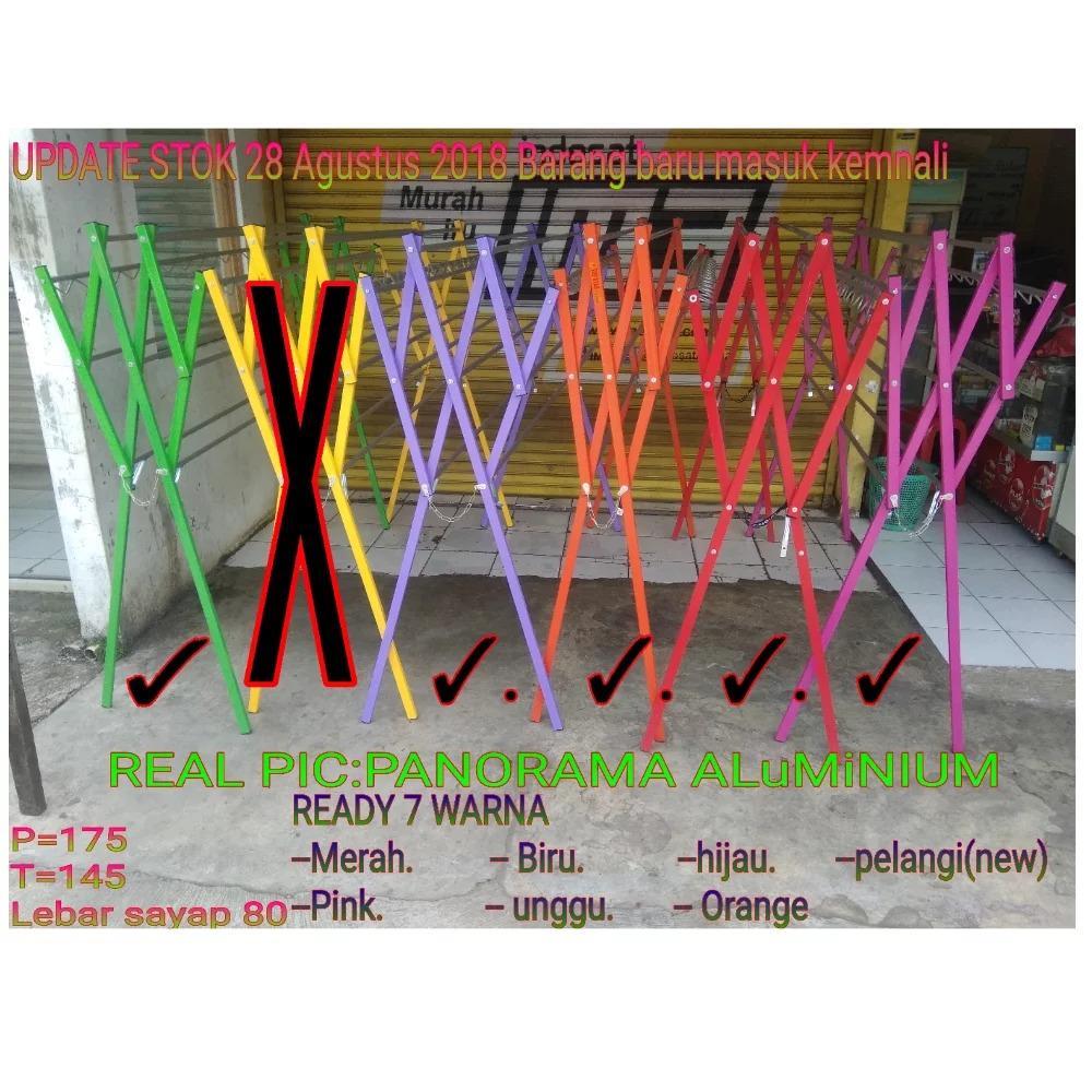 ... Hanger Jemuran Silver Spek Source · Jemuran Baju Alumunium Color Ekonomis Panjang 175 Cm