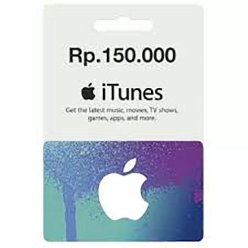 Itunes Gift Card Rp 150.000,- By Chen Cell.