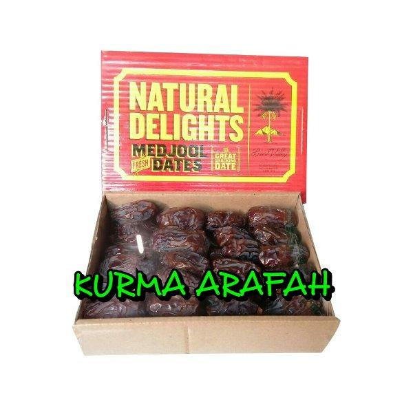 Kurma Medjool Natural Delight California Original By Jokul.