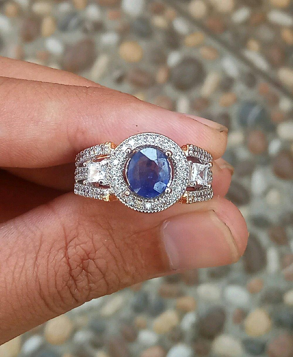 Best New Promo Blue Safir Cutting Natural Se Indonesia By Central Gemstone Shop.
