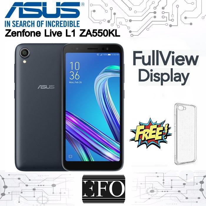 Asus Zenfone Live L1 ZA550KL Layar 5.5