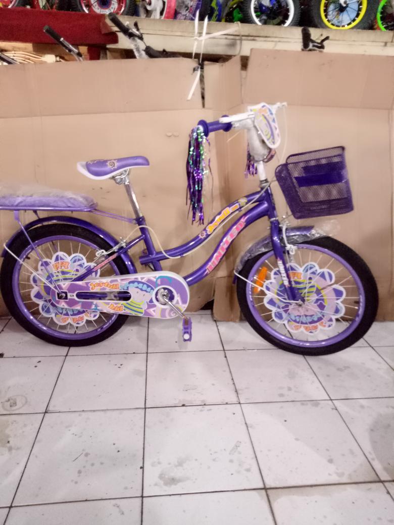 Sepeda anak 20 mini united joyfull keranjang boncengan