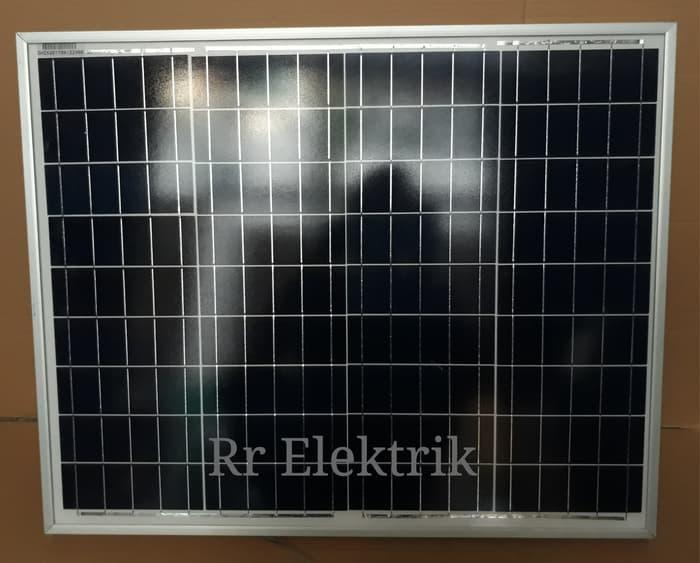 Promo HARGA PROMO Solar Panel / Panel Surya / Solar Cell Sunlite 50wp Poly Original