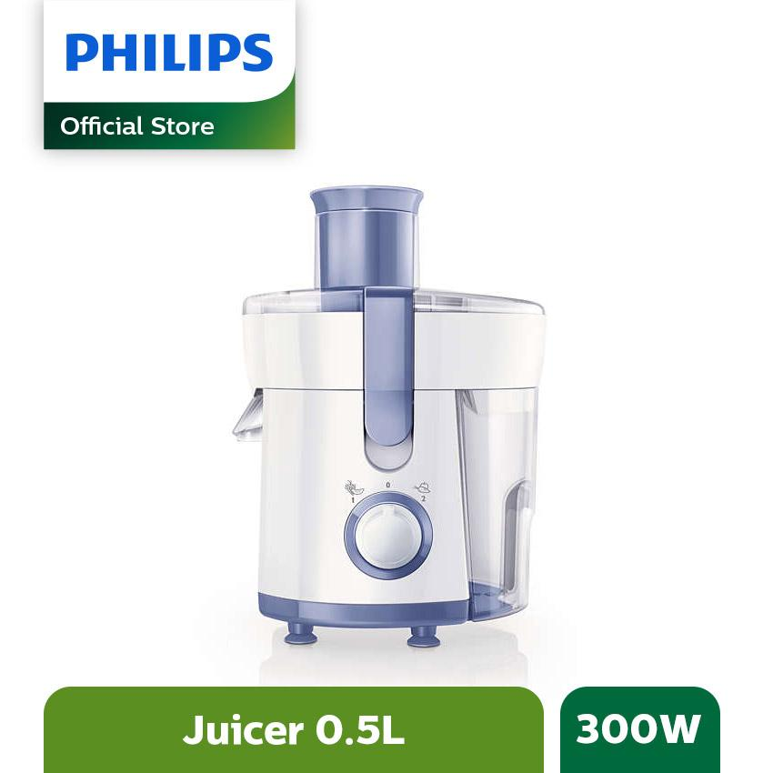 Philips HR 1811/71 Juicer - Putih-Biru