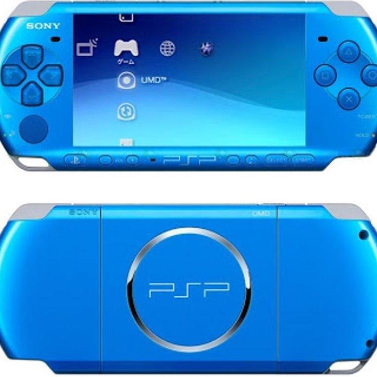 PSP SONY SLIM SERI 3000 TERBARU + MC 8GB + GAMES