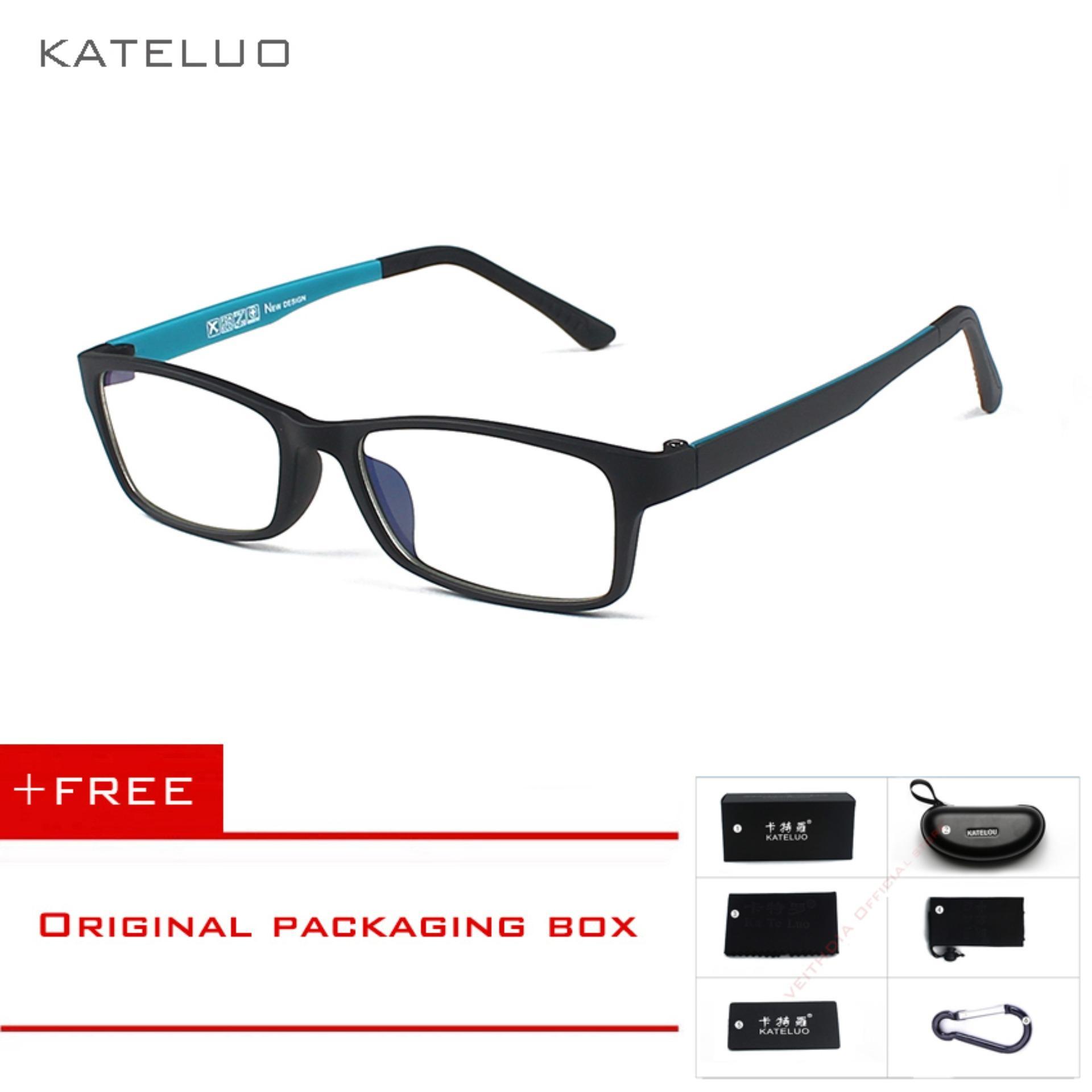 KATELUO Kacamata Radiasi Kacamat Komputer Anti Lelah Untuk Pria Wanita 1302