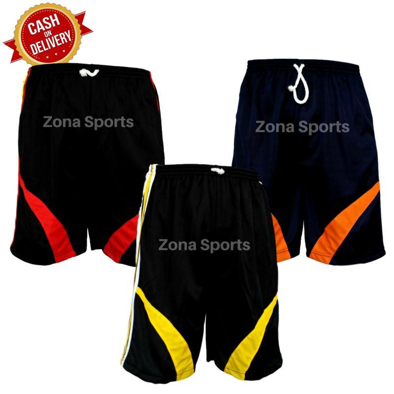 [Dapat 3 Celana] Celana Pendek Pria Olahraga Zona Sports / Celana Training Pendek /