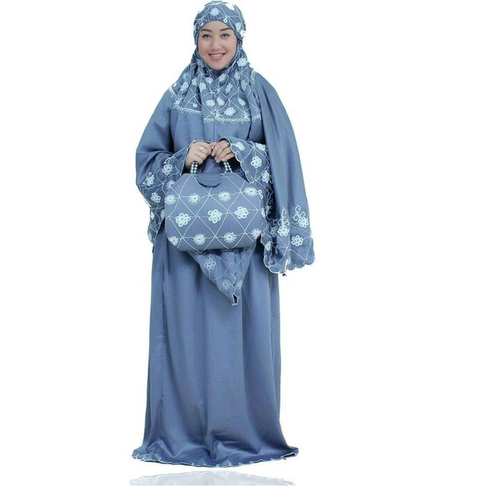 Mukena Jodha Abu di lapak Mukena Yumna mukenayumna