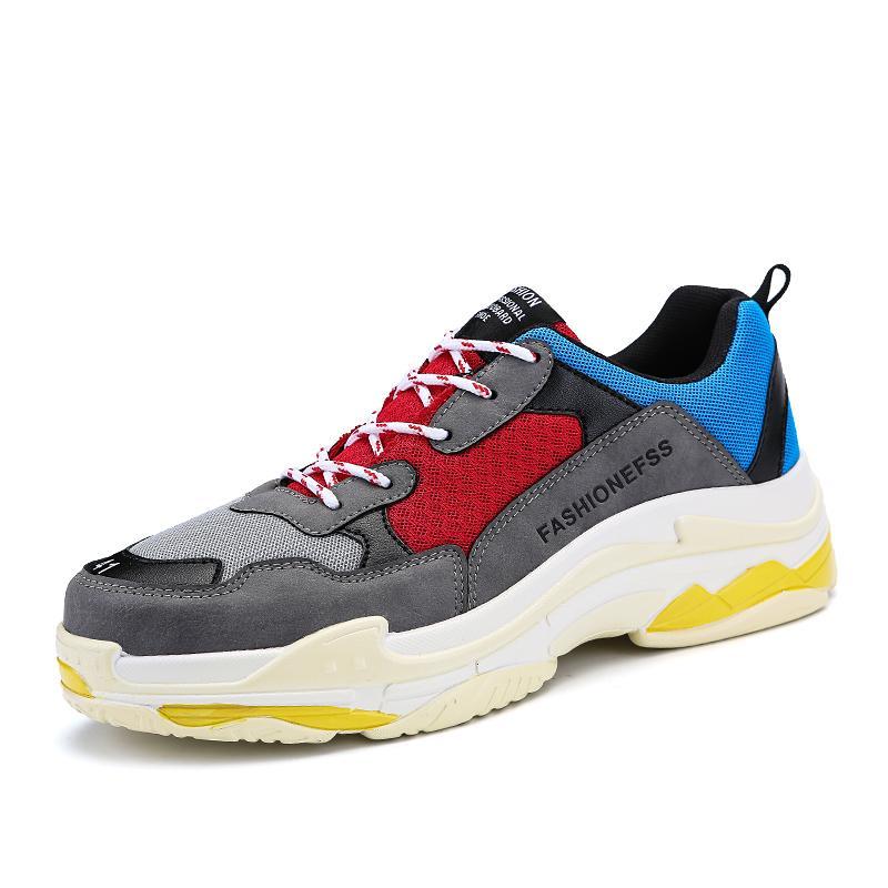 Harajuku Sepatu Sneakers Musim Semi Dan Musim Panas Baru Sepatu Running  Kasual Pria . cf2c580fc0