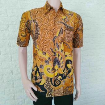 Pencarian Termurah Model Baju Batik Pria Modern Casual Terbaru Baju Batik  Pria Lengan Pendek Terbaru Kemeja 3404b0c44c