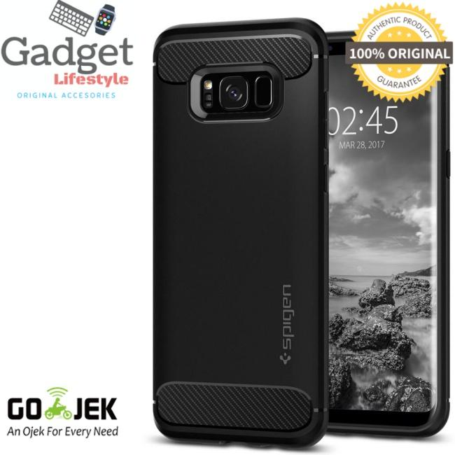 Original Spigen Rugged Armor Case Samsung Galaxy S8 Plus 6.2 inch